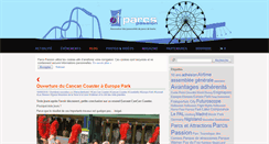 Preview of blog.parcspassion.org